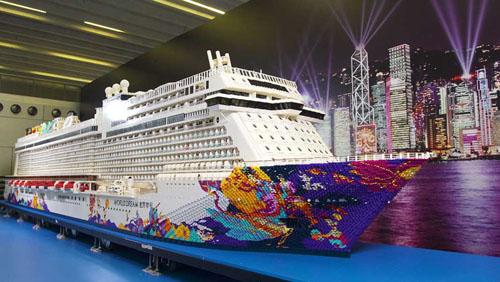 самый большой корабль из lego