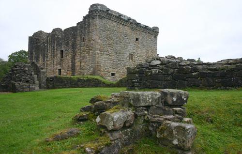 барсук захватил замок