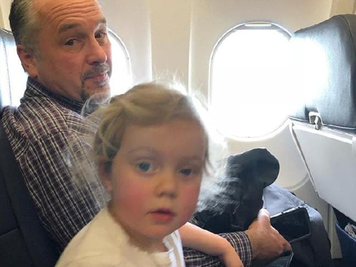доброта незнакомца в самолёте