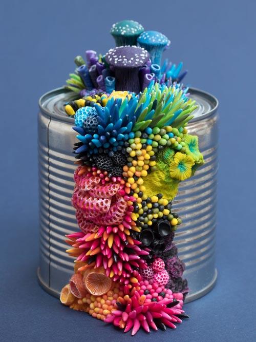 произведения искусства из мусора