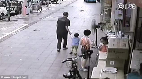 похищение среди бела дня