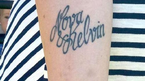 татуировка с ошибкой