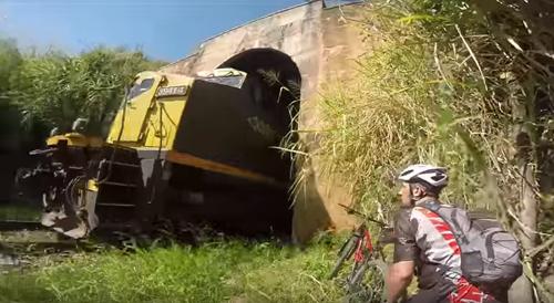 короткий маршрут через туннель