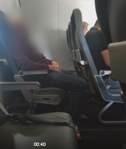 хулиган на борту самолёта