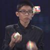 жонглирование кубиками рубика