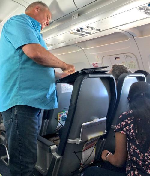 добрый жест авиапассажира
