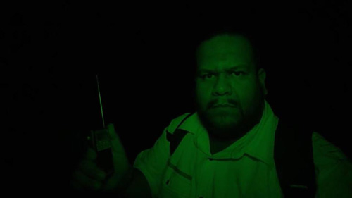 призрак в заброшенных туннелях