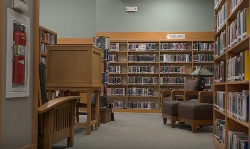 привидения в библиотеке