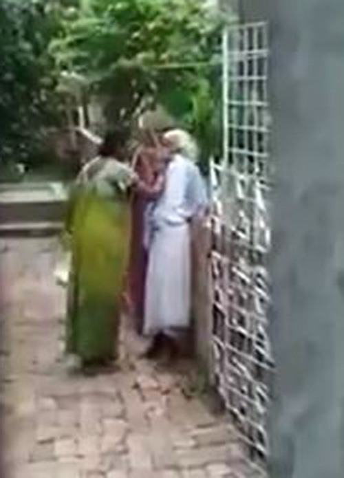 невестка избила свекровь