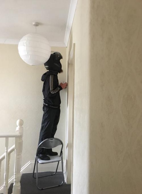 курьер помог избавиться от паука
