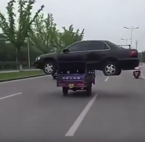 новый способ эвакуации машин