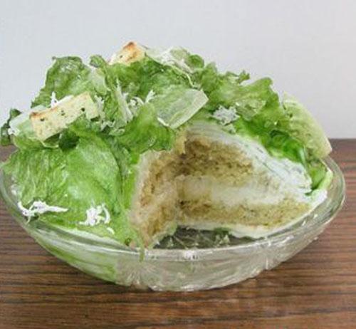 салат в новом исполнении