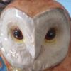 неудачное фото статуэтки совы