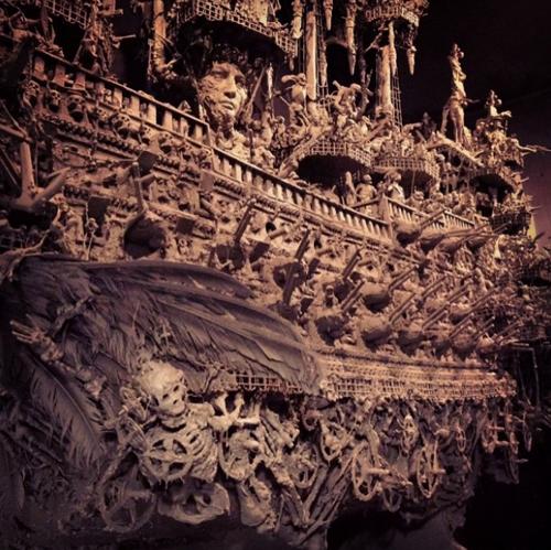 невероятный корабль-призрак