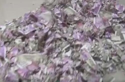 крыса наелась денег в банкомате