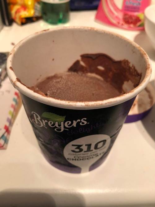 разочаровывающее мороженое