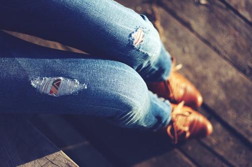 отец запретил носить джинсы