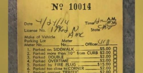 незнакомец заплатил за парковку