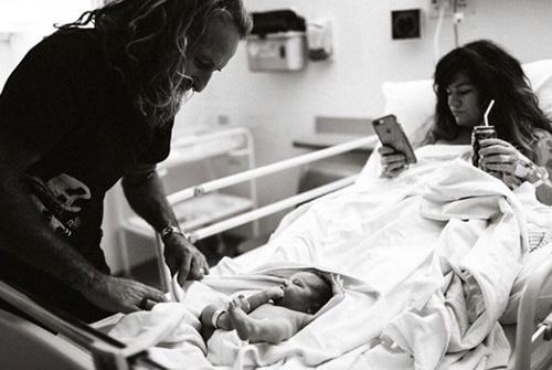 фотография новоиспечённой мамы