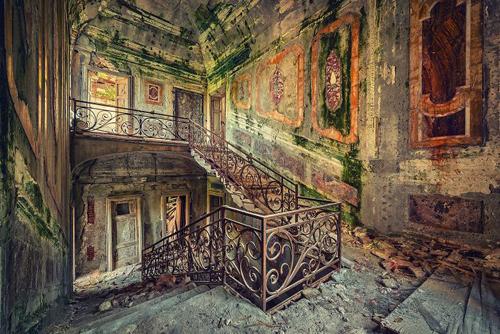 красивые фото заброшенных зданий