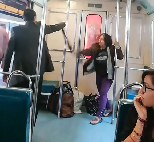 пассажир оказался экзорцистом