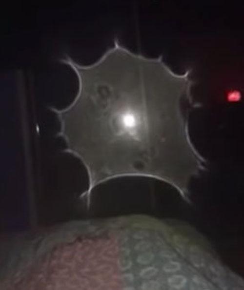 таинственный портал в спальне