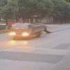 водитель грузовика потерял ткань