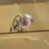 велосипедистка и разводной мост