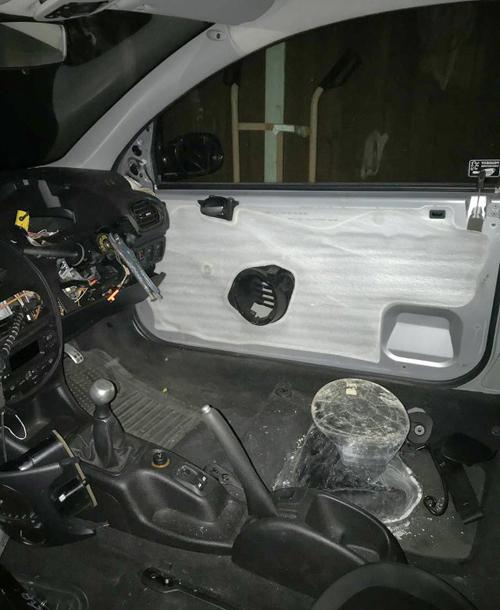 полиция остановила странную машину