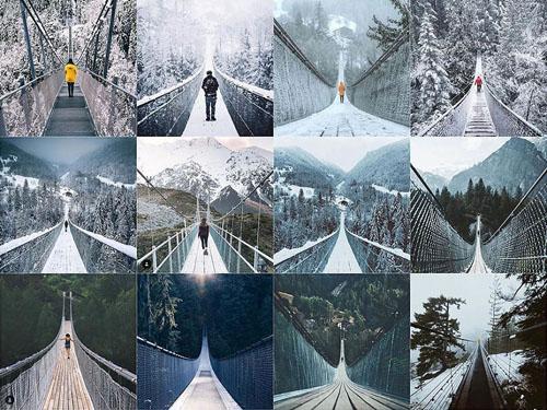 одинаковые фотографии в соцсетях