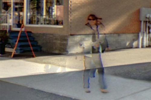 пешеходы превратились в призраков