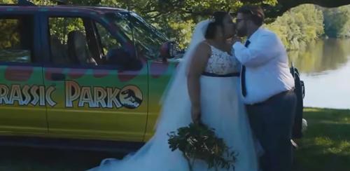свадьба в парке юрского периода