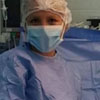 селфи на фоне операционного стола