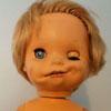 старая пугающая кукла
