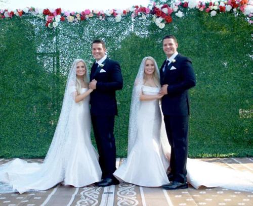 двойная свадьба близнецов