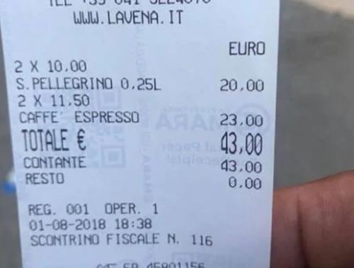 слишком дорогой кофе