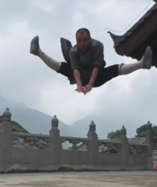 потрясающие навыки кунг-фу