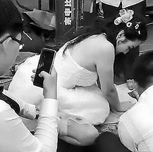 невеста стала свидетельницей дтп