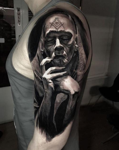 татуировки талантливого мастера