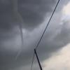 редкий змеевидный торнадо