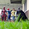 фотографии с супергероями