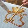 удивительное сахарное рисование