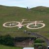 знак в виде велосипеда