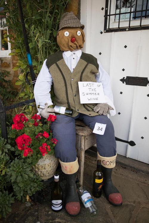 конкурс огородных пугал