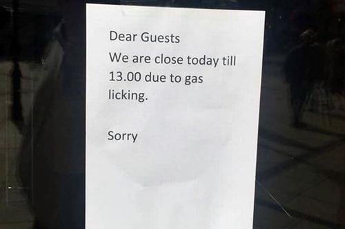 причина закрытия ресторана