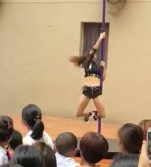танцы на шесте в детском саду