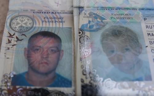 перелёт с чужим паспортом