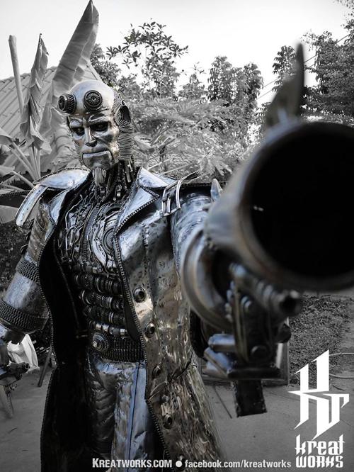 невероятные скульптуры из металла