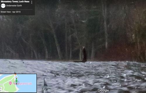 женщина обнаружила чудовище