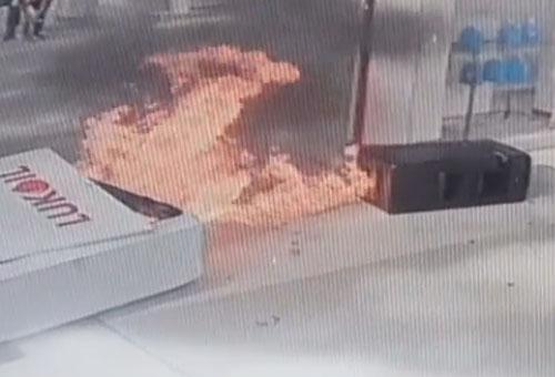 пожар на автозаправке